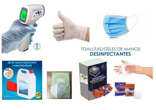 Kit productos Covid19